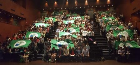 20170427 Entrega Banderas Verdes