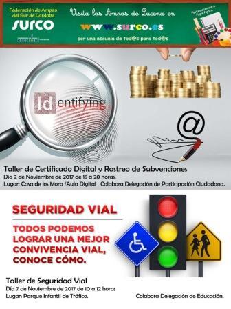taller seguridad vial 7 noviembre