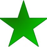 Estrella-verde-color